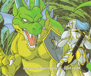 Dragon Quest Combat contre le Dragon