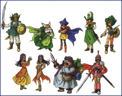 Dragon Quest IV Artwork