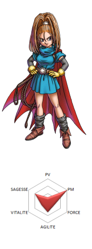 Heros Dragon Quest VI Laura