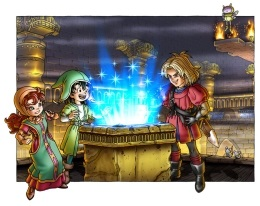 Dragon Quest VII Artwork