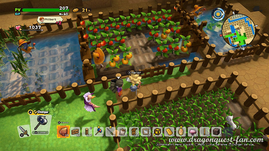 Dragon Quest Builders 2 Culture Tomate