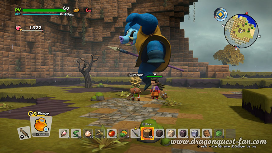 Dragon Quest Builders 2 Monstre Surpuissant Roi Orc
