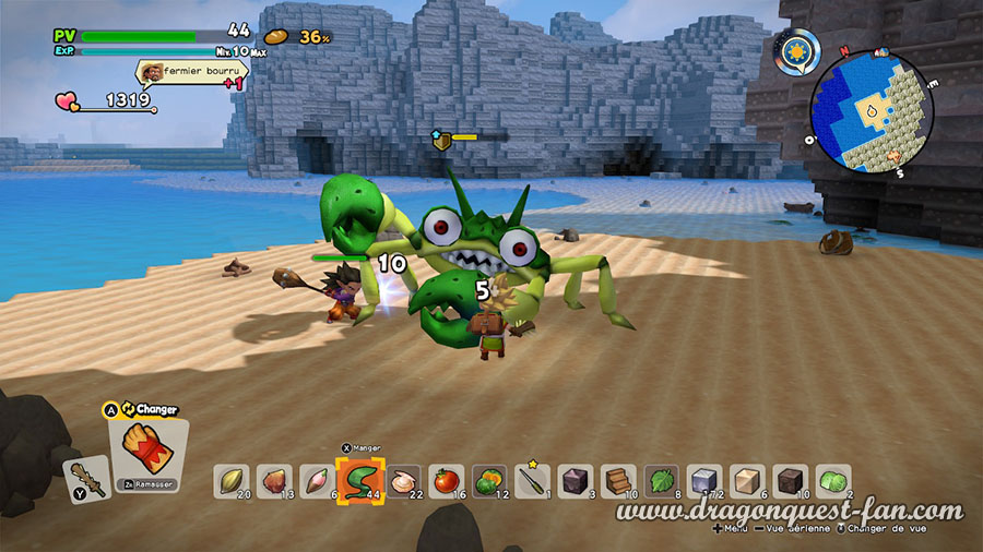 Dragon Quest Builders 2 Monstre Surpuissant Crabject