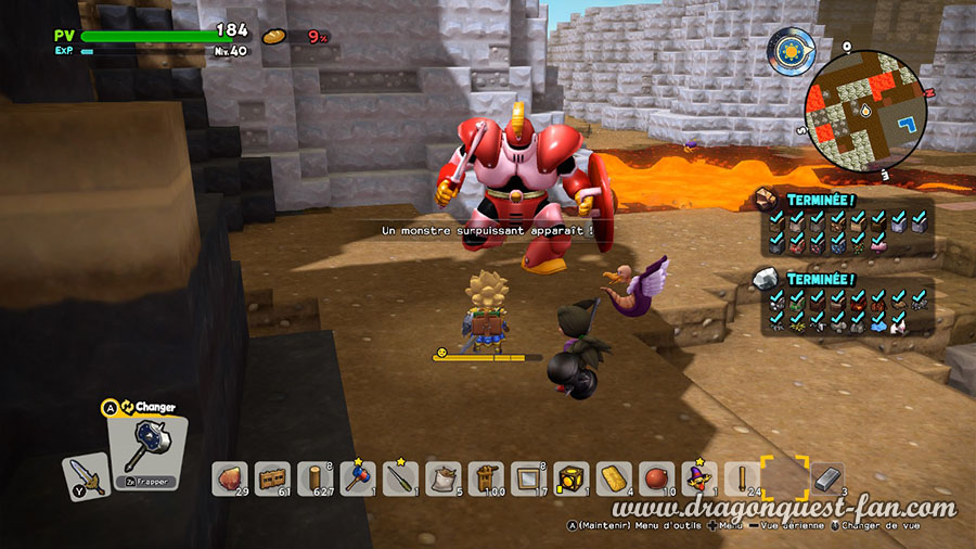 Dragon Quest Builders 2 Monstre Surpuissant
