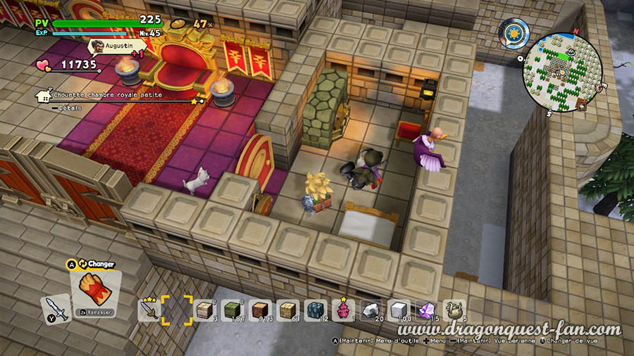 Dragon Quest Builders 2 Chateau