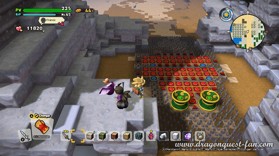 Dragon Quest Builders 2 Etablissez des pieges