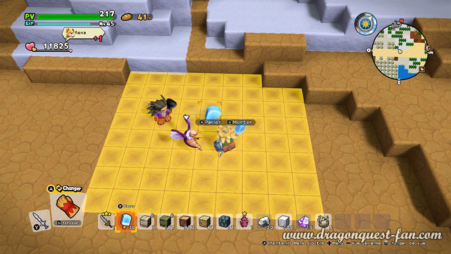 Dragon Quest Builders 2 Plaine Enneigee