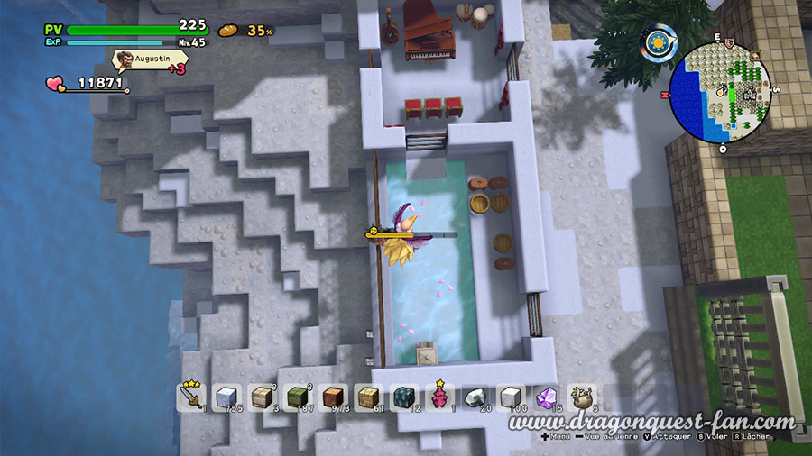 Dragon Quest Builders 2 Station Thermale