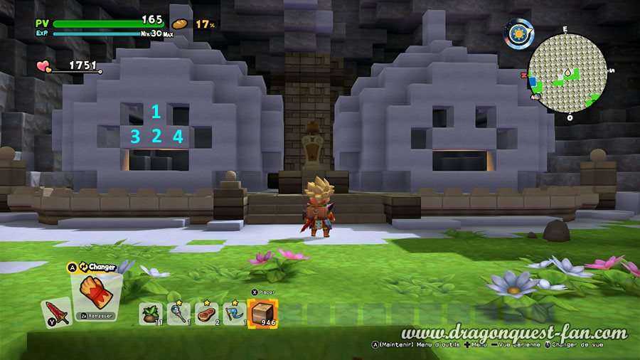 Dragon Quest Builders 2 Enigme Ruisselune