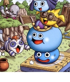 Dragon Quest Slime Mori Mori Artwork
