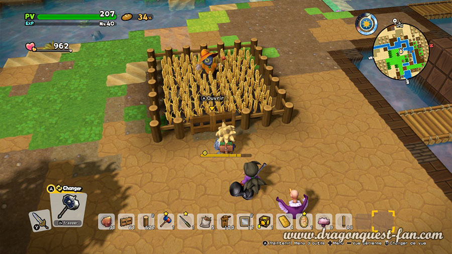 Dragon Quest Builders 2 Culture Ble