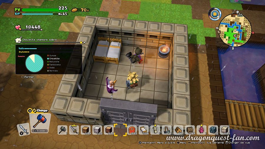 Dragon Quest Builders 2 Chouette